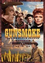 DVD Cover for Gunsmoke - The Twelfth Season - Volume 1