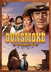 Gunsmoke: The Fourteenth Season DVD Cover