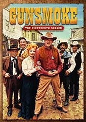 Gunsmoke Season 19 DVD Cover