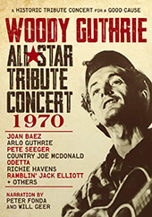 Woody Guthrie: All-Star Tribute Concert 1970 DVD Cover