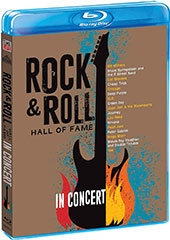 Rock & Roll Hall of Fame in Concert Blu-Ray Cover