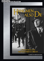 Hangmen Also Die Blu-Ray Cover