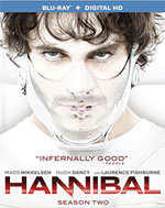 Hannibal: Season Two Blu-Ray Cover