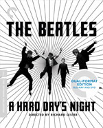 Criterion Collection Blu-Ray Cover for A Hard Day's Night