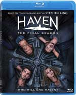 Haven: The Final Season Blu-Ray Cover