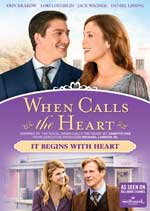 DVD Cover for When Calls the Heart: It Begins With Heart