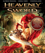 DVD Cover for Heavenly Sword