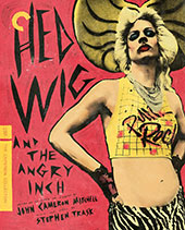 Hedwig and the Angry Inch Criterion Collection Blu-Ray Cover