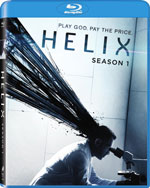 Blu-Ray Cover for Helix: The Complete First Season