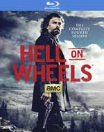 Hell On Wheels: The Complete Fourth Season Blu-Ray Cover