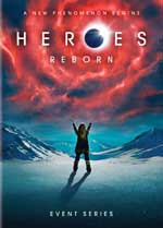 DVD Cover for Heroes Reborn: Event Series