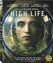 The High Life Blu-Ray Cover