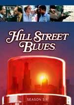 DVD Cover for Hill Street Blues; Season Six