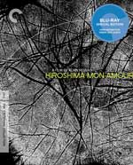 Criterion Collection Blu-Ray cover for Hiroshima mon amor