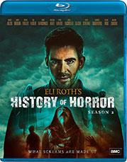 Eli Roths's History of Horror Season 2 Blu-Ray Cover