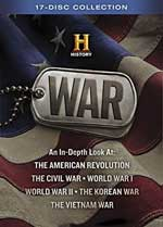 DVD Cover for History War Collection