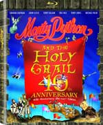 Monty Python and the Holy Grail 40th Anniversary Edition Blu-Ray Cover