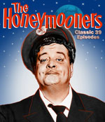 The Honeymooners Classic 39 Episodes Blu-Ray Cover