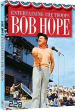 DVD Cover for Bob Hope: Entertaining the Troops!