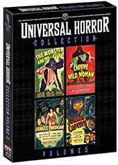 Universal Horror Collection Volume 5 Blu-Ray Cover