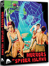 Horrors of Spider Island Blu-Ray Cover