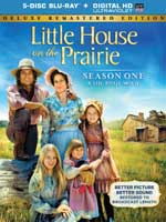 DVD Cover for Little House on the Prarie Season 1 Deluxe Remastered Edition