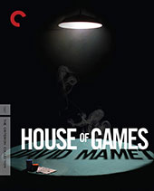 House of Games Criterion Collection Blu-Ray Cover