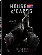 DVD Cover for House of Cards Season 2