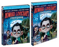Howard Lovecraft and the Frozen Kingdom Blu-Ray Cover