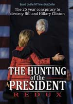 DVD Cover for The Hunting of the President Redux