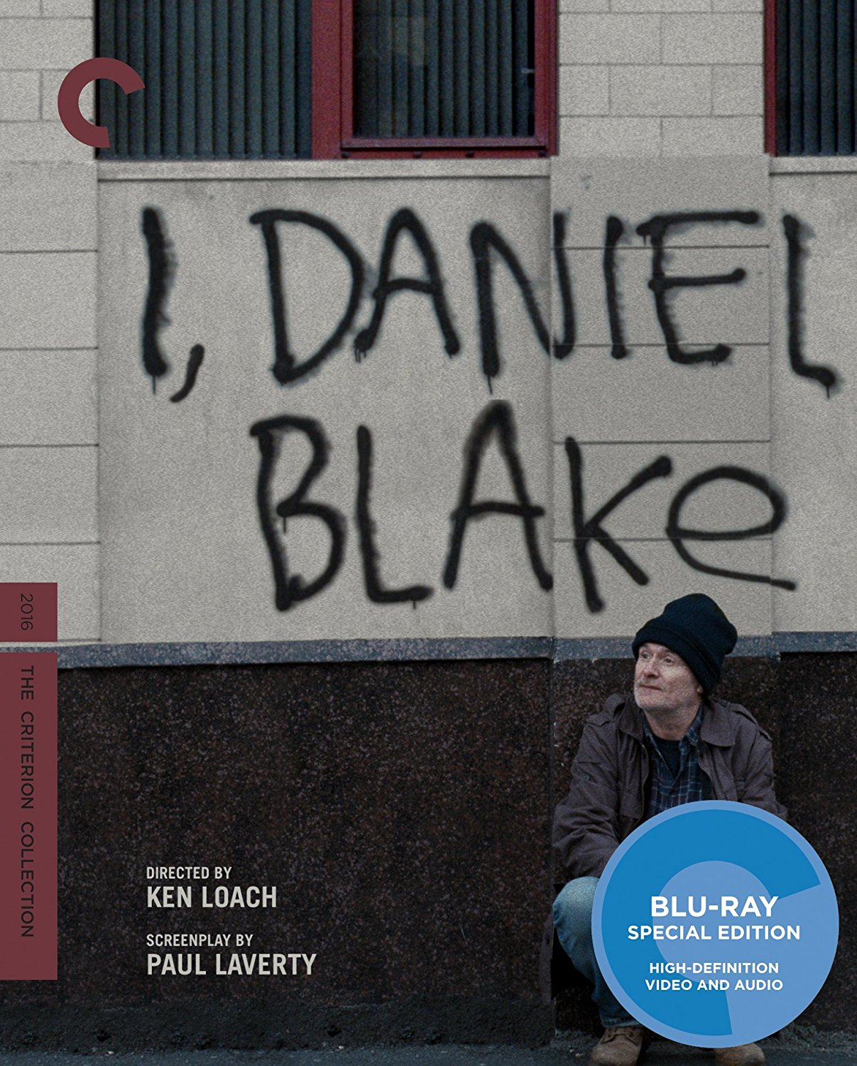 I, Daniel Blake Criterion Collection Blu-Ray Cover
