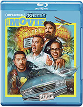 Impractical Jokers: The Movie Blu-Ray Cover