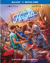 In the Heights Blu-Ray Cover