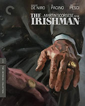 The Irishman Criterion Collection Blu-Ray Cover