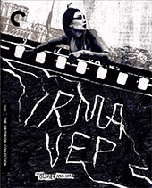 Irma Vep Criterion Collection Blu-Ray Cover