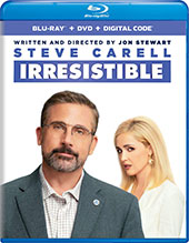 Irresistible Blu-Ray Cover