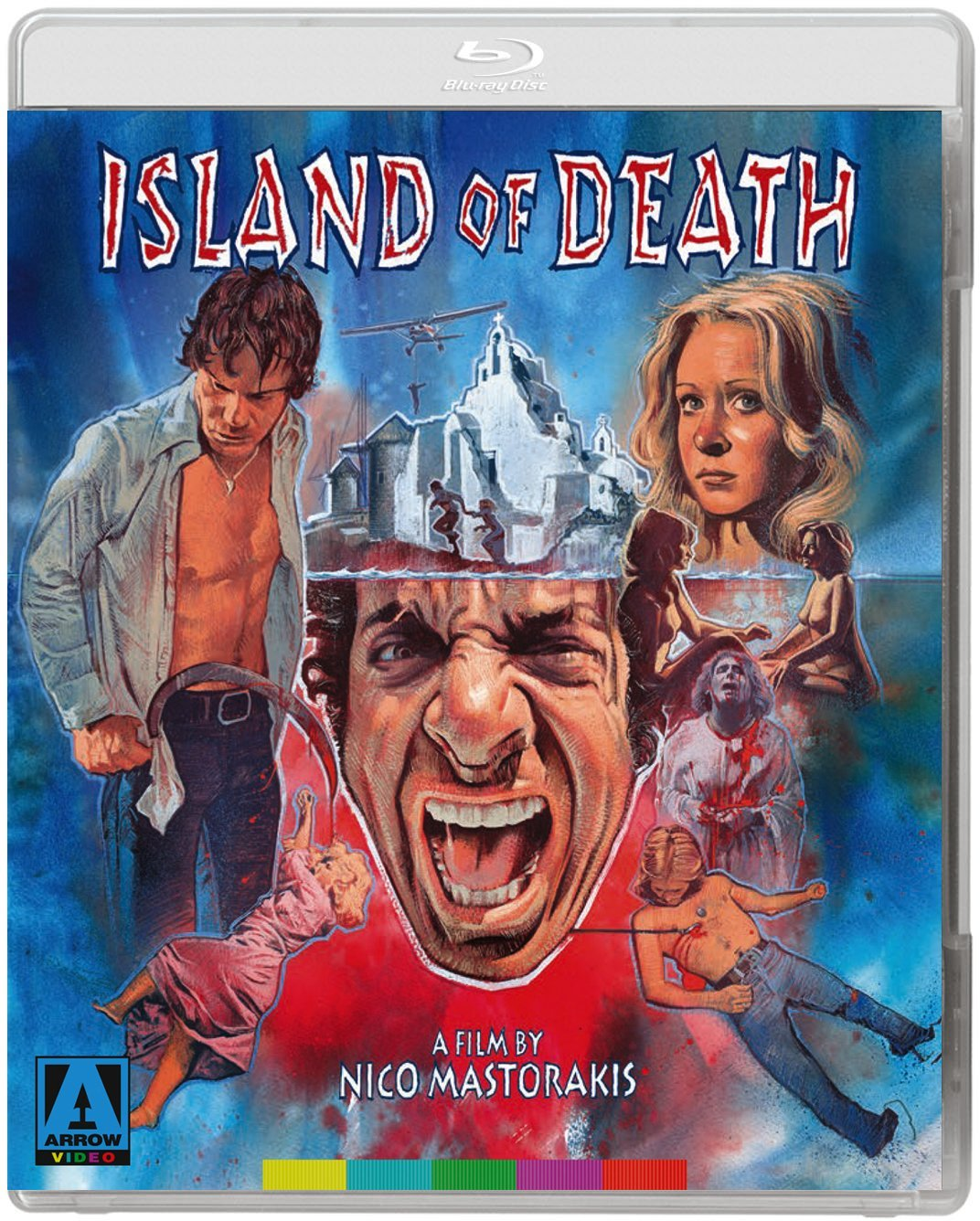 Island of Death Blu-Ray Cover