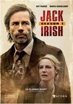 DVD Cover for Jack Irish: Season One