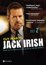DVD Cover for Jack Irish Set 2