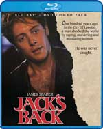 Blu-Ray Cover for Jack's Back
