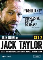 DVD Cover for Jack Taylor Set 2