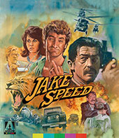 Jake Speed Blu-Ray Cover
