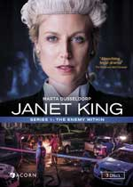 DVD Cover for Janet King, Series 1: The Enemy Within