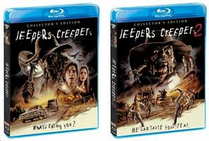 Jeepers Creepers and Jeepers Creepers 2 Blu-Ray Debut Covers
