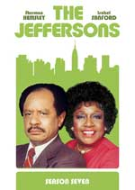 DVD Cover for The Jeffersons Season 7