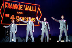 Frank Valli and the Four Seasons are back in the movie based on the hit musical, Jersey Boys.