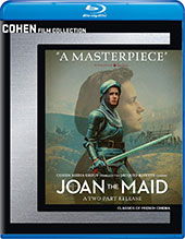 Joan the Maid Blu-Ray Cover