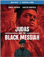 Judas and the Black Messiah Blu-Ray Cover