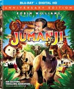 Jumanji 20th Anniversary Blu-Ray Cover