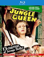 Jungle Queen Blu-Ray Cover